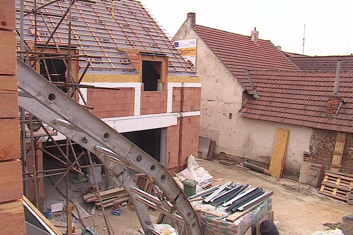 Budoucí chráněné bydlení v Brumovicích