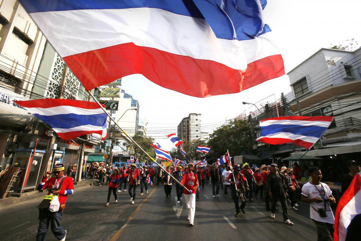 Protivládní protesty v Bangkoku