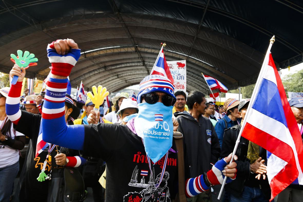 Protivládní protesty v Thajsku