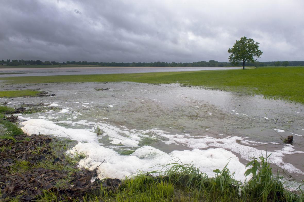 Povodně - ilustrační foto