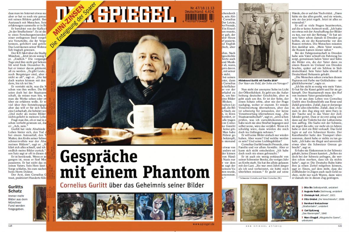 Der Spiegel o Corneliu Gurlittovi