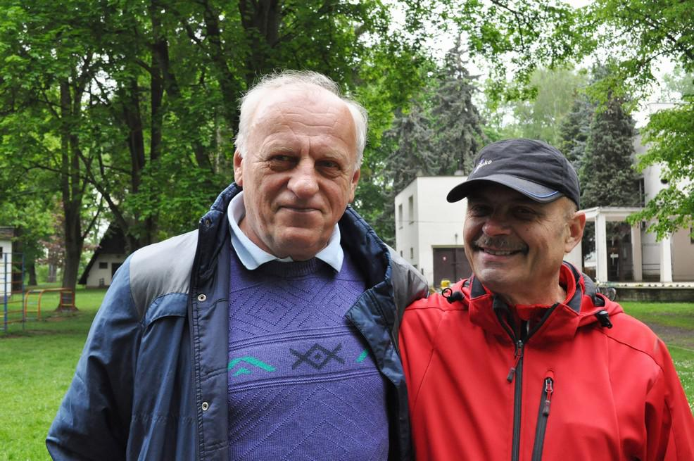 Jozef Plachý (vlevo)