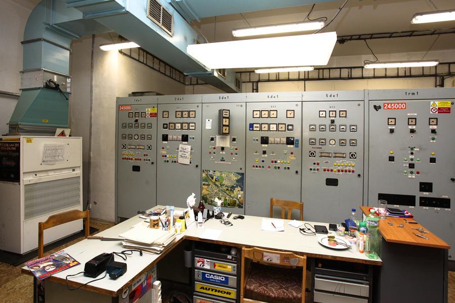 Technické centrum ochranného systému metra na Jižním Městě