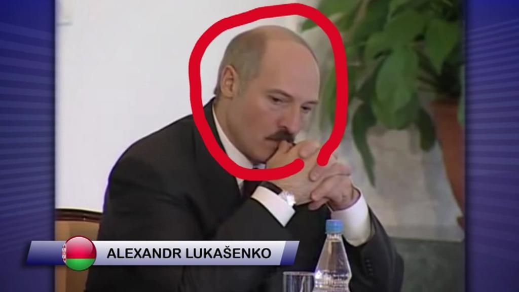 Prezident Lukašenko jako trenér svých svěřenců