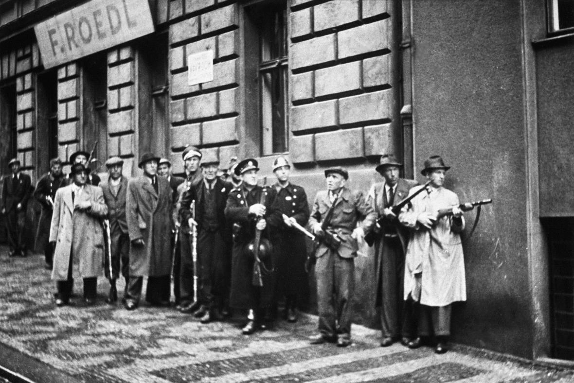 Květnové povstání českého lidu - Pražské povstání