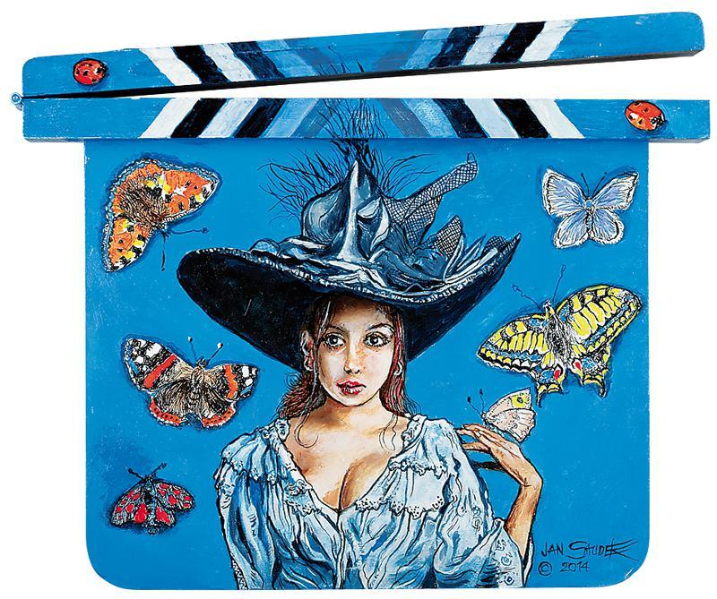 Jan Saudek - Madame Buttefly