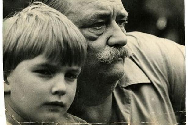 Jiří Trnka se svým synem Janem