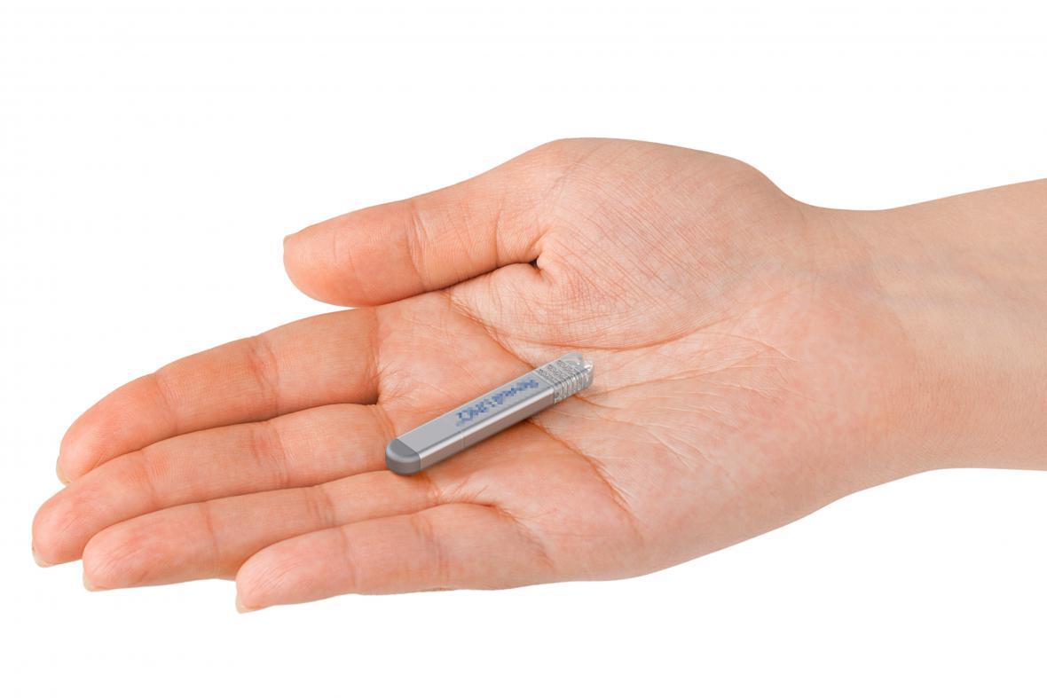 Mikromonitor pro sledování činnosti srdce