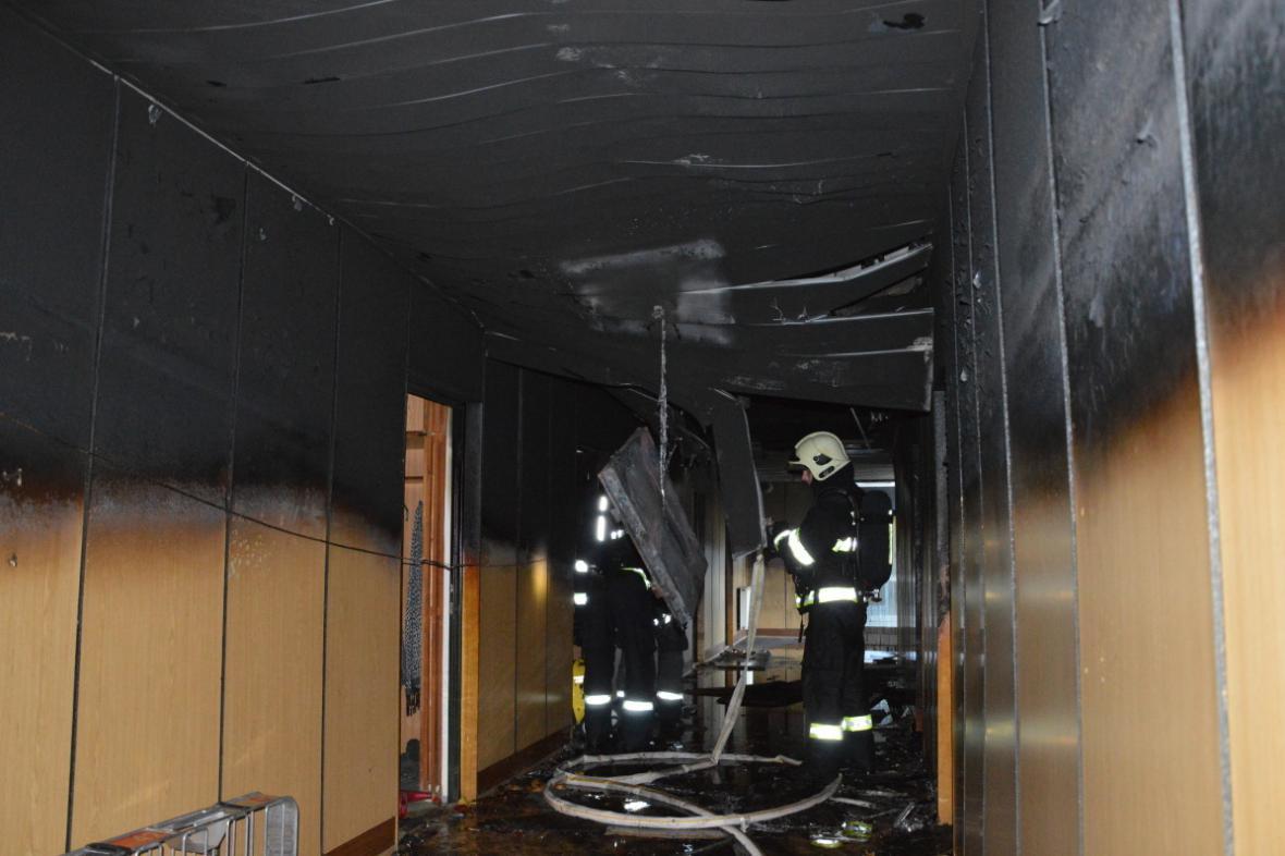 Požár vysokoškolských kolejí Vinařská