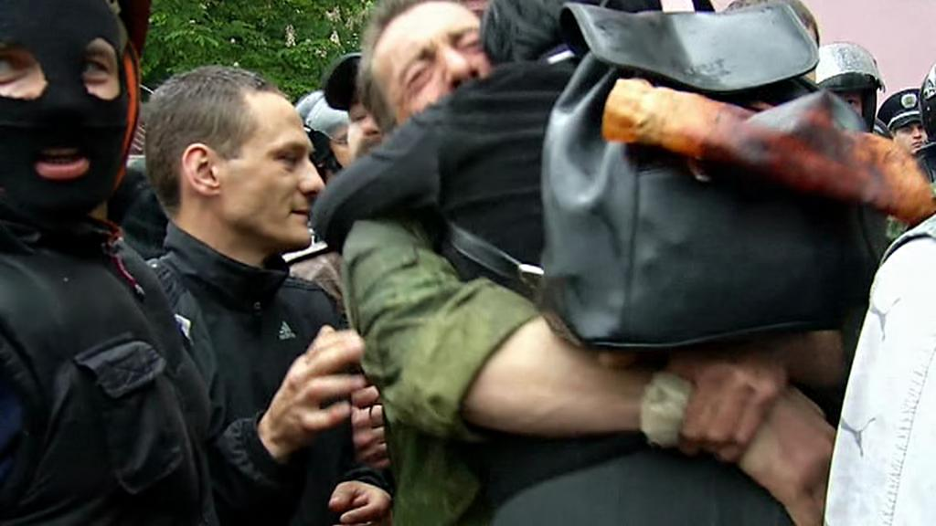 Policie v Oděse propustila část zadržených demonstrantů
