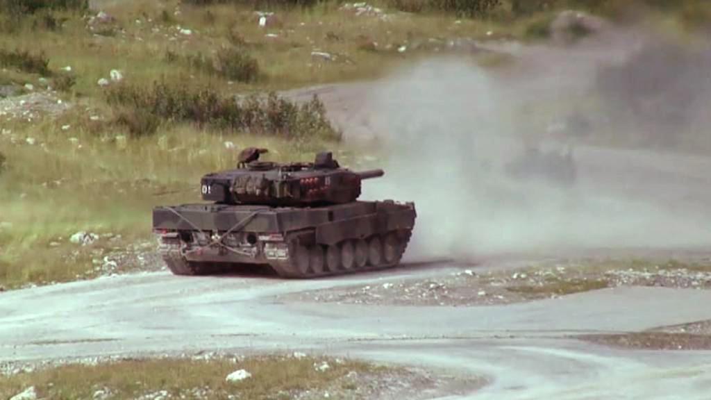 Německý tank Leopard