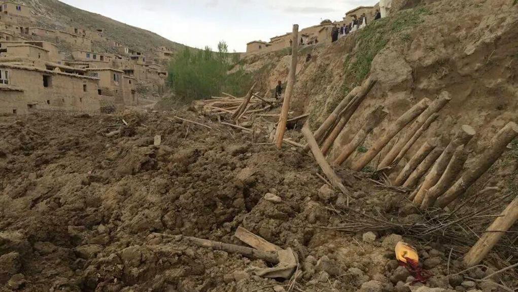 Sesuvy půdy na severovýchodě Afghánistánu