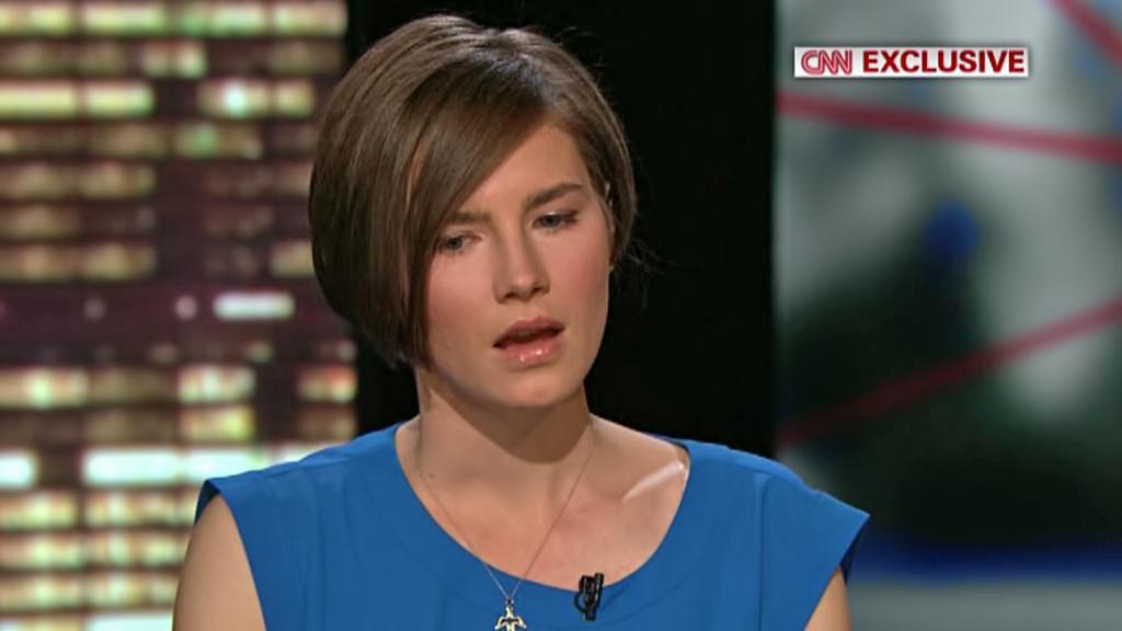 Amanda Knoxová v rozhovoru pro CNN