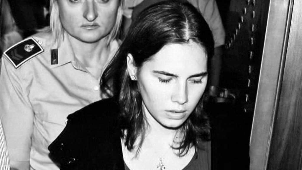 Amanda Knoxová u soudu