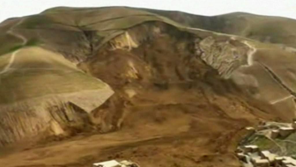 Sesuv půdy v Badachšánu