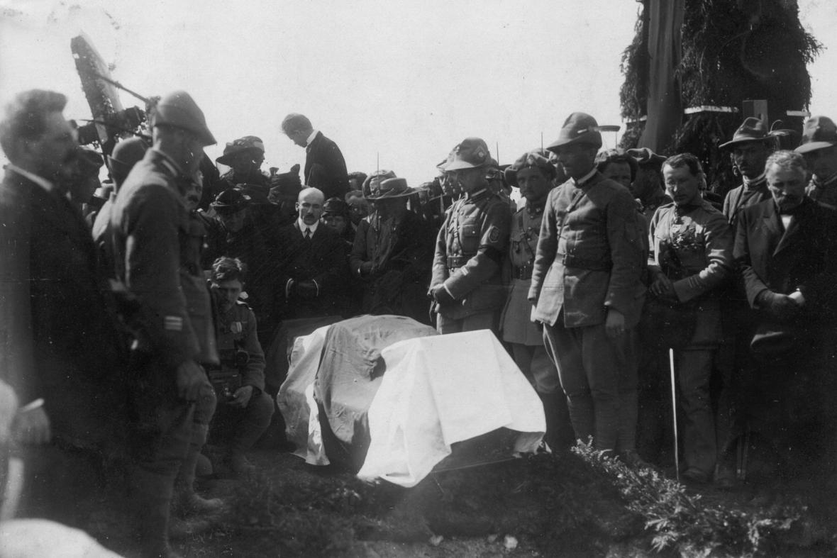 Pohřeb Milana Rastislava Štefánika