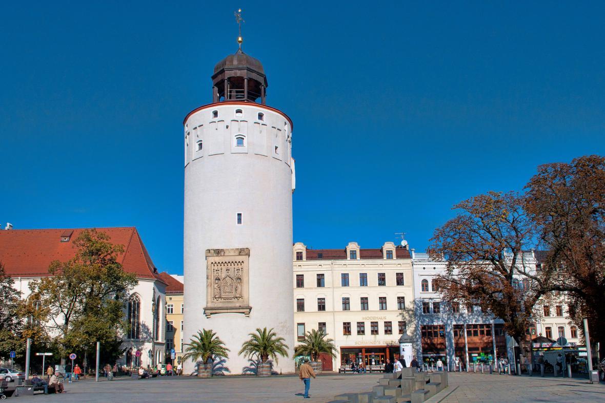 Město Görlitz (Dicker Turm - Tlustá věž)