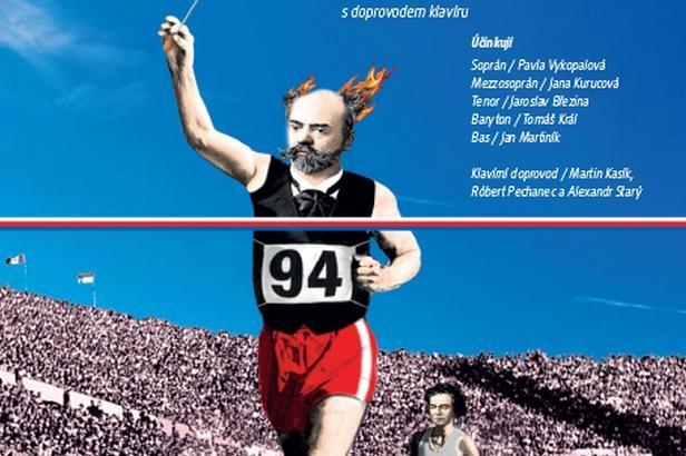 Plakát ke Dvořákovskému písňovému maratonu