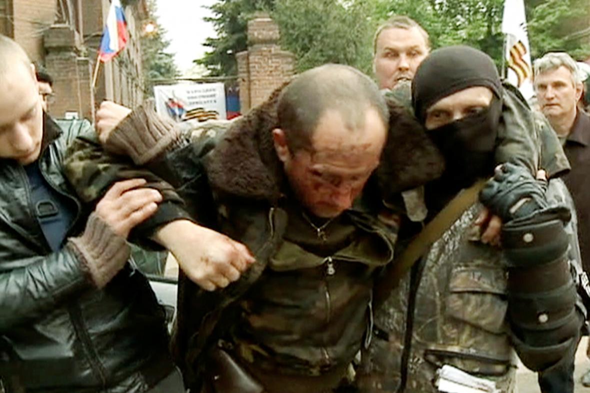 Zadržený ukrajinský pilot