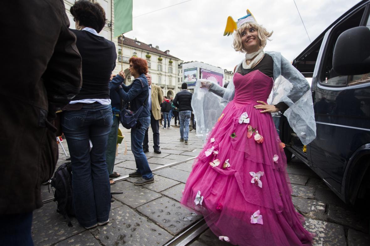 První máj v italském Turíně