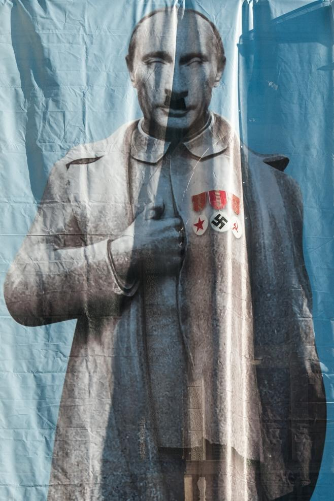 Vladimir Putin na liberecké radnici