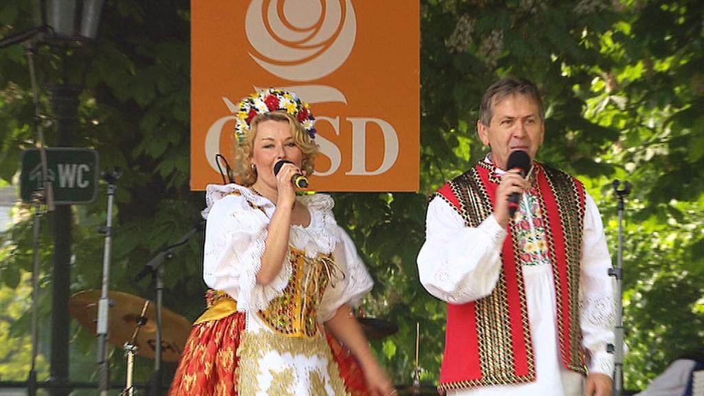 Prvomájové oslavy v režii ČSSD