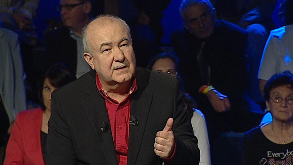 Lídr evropské kandidátky S-SZR Petr Hannig