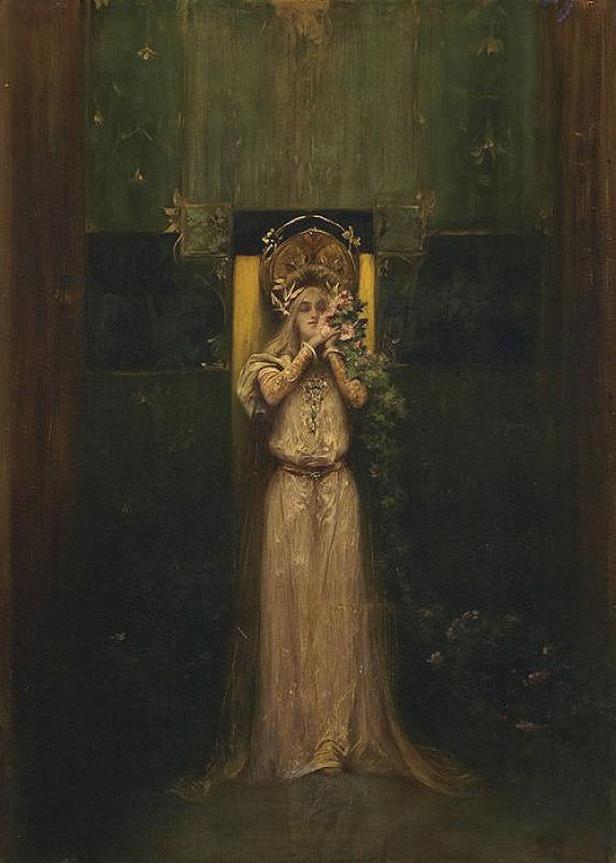 Alfons Mucha / Flóra, 1892