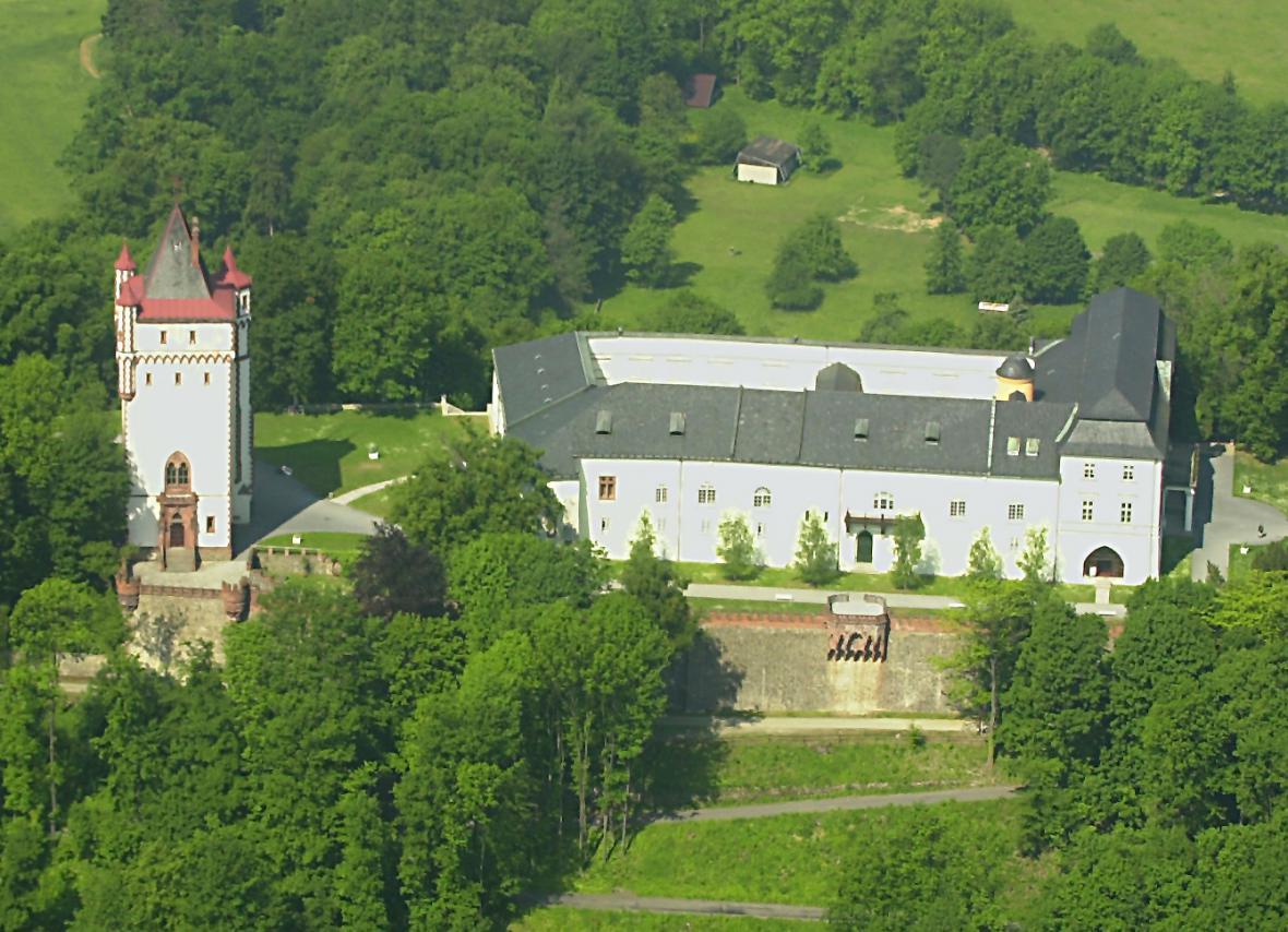 Hradec nad Moravicí - Bílý zámek