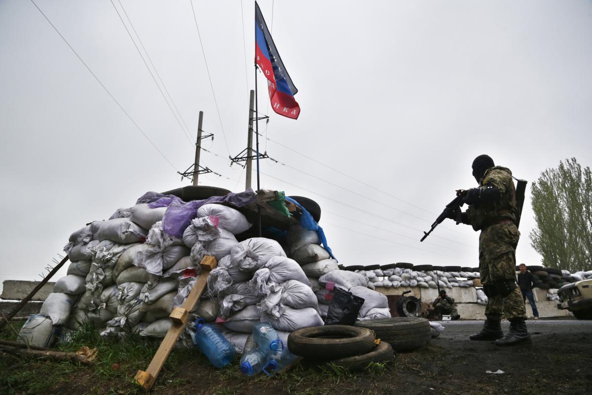 Separatisté na východě Ukrajiny