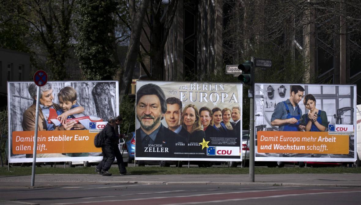 Kampaň CDU před volbami do EP
