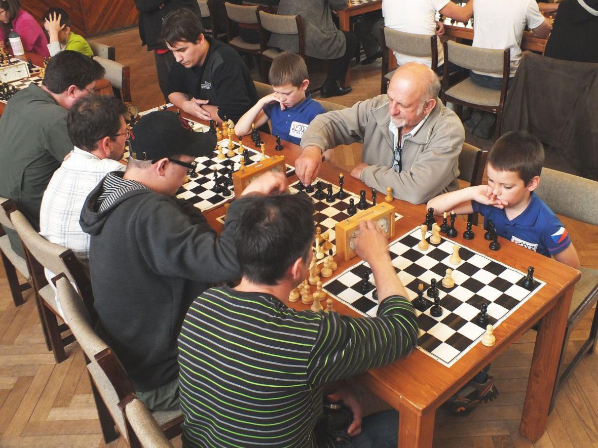 Šachová soutěž v Boskovicích