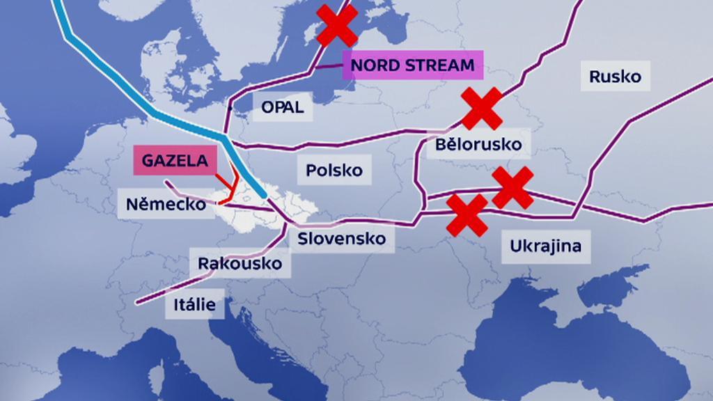 Možnosti ČR při odstávkách z východu