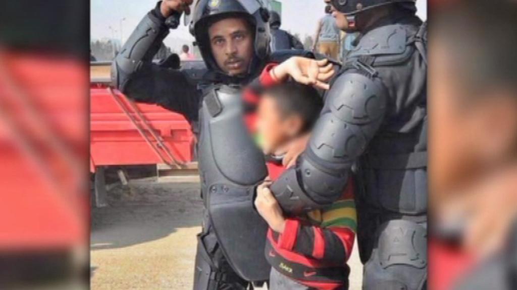 Policejní brutalita v Egyptě