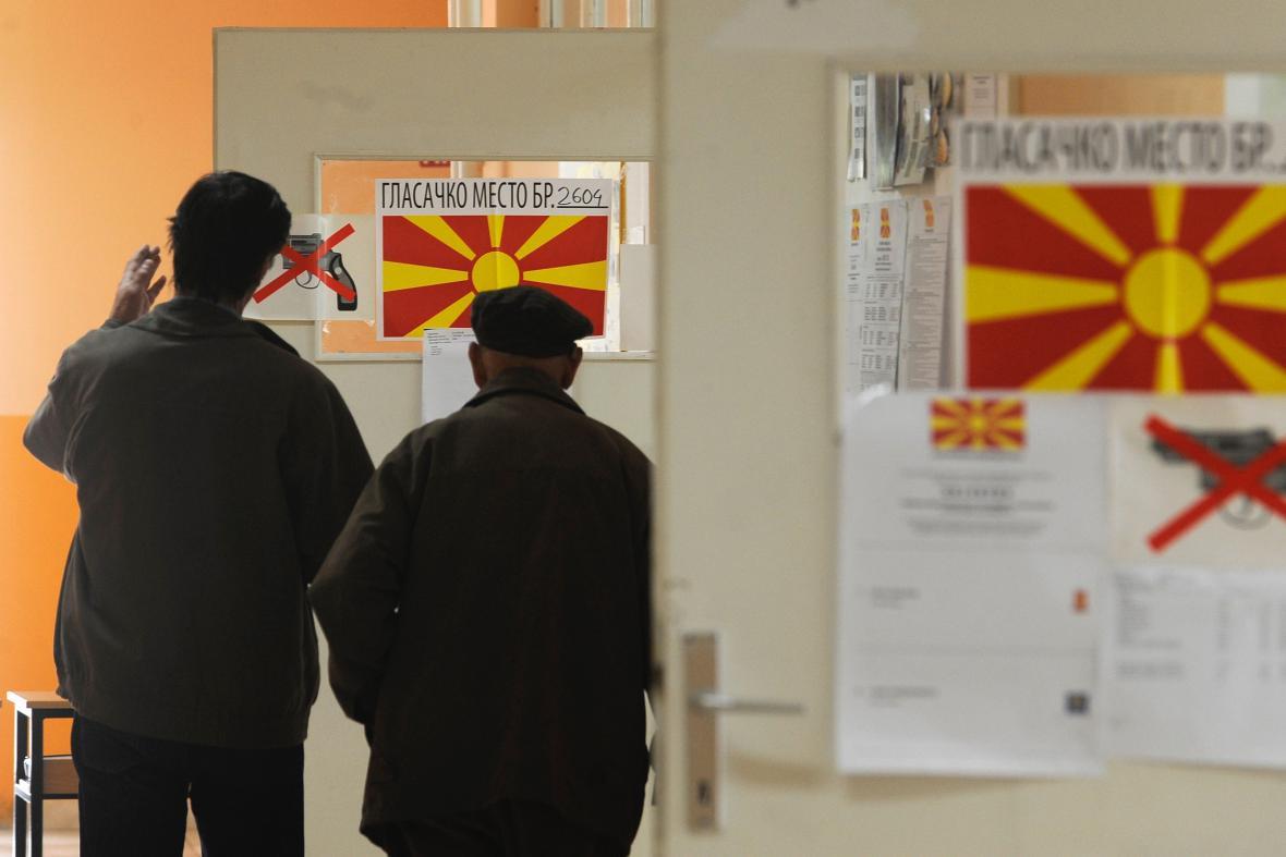 Volby v Makedonii