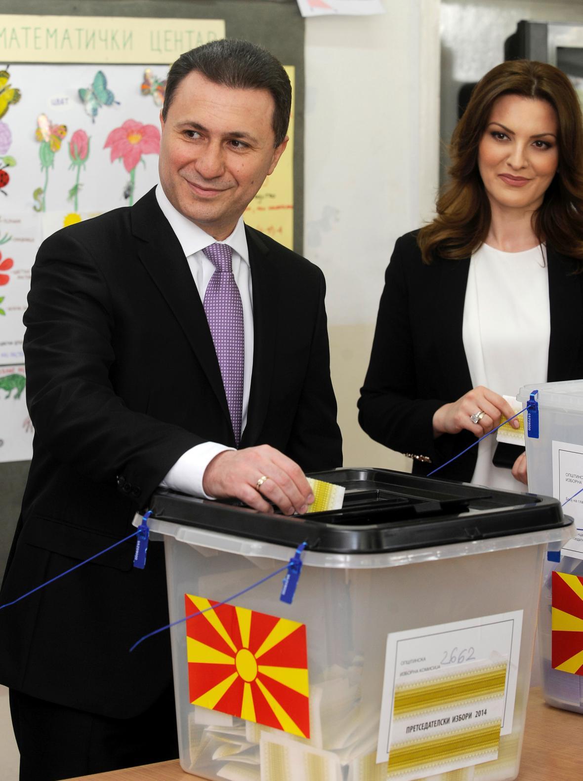 Makedonské volby (Nikola Gruevski)
