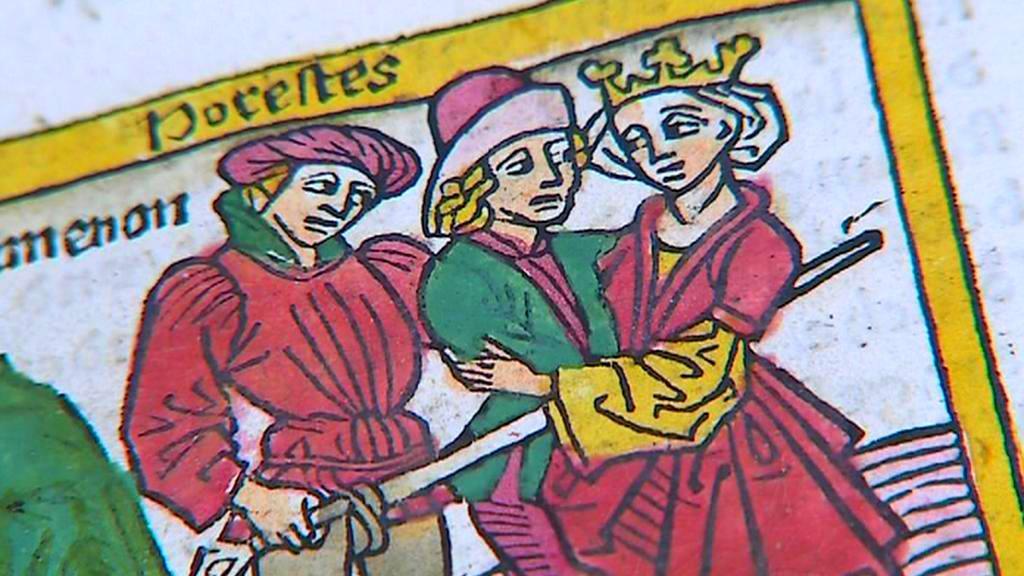 Giovanni Boccaccio / O slavných ženách (ilustrace)