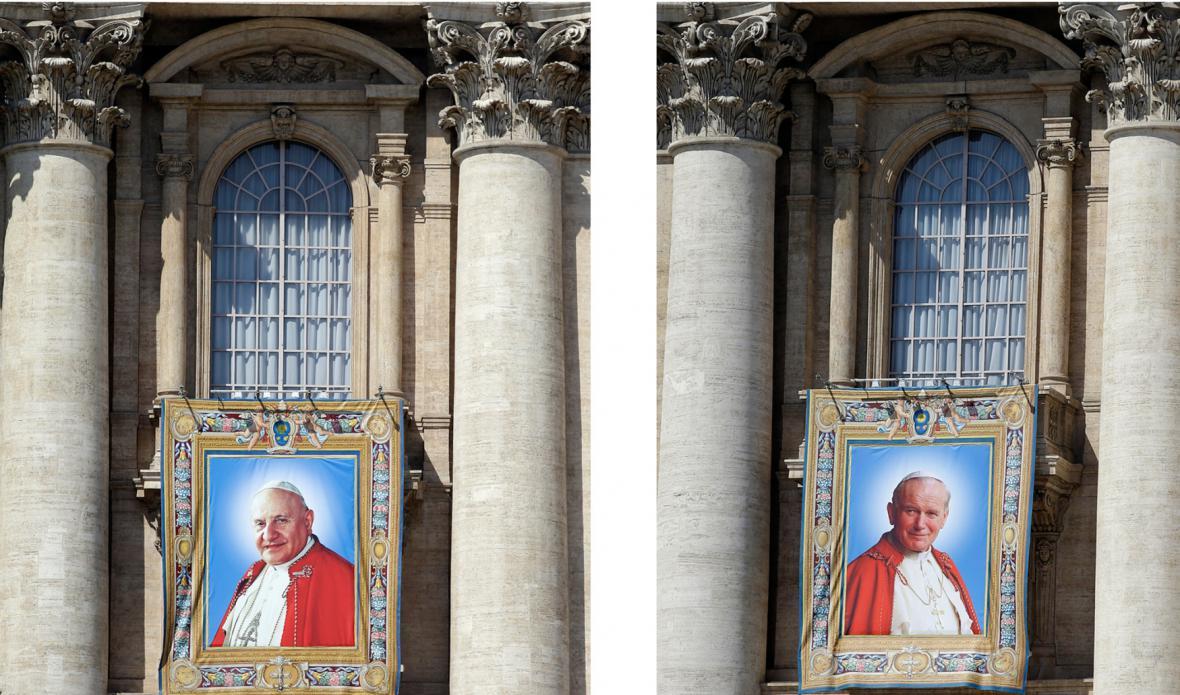 Svatořečení Jana Pavla II. a Jana XXIII.