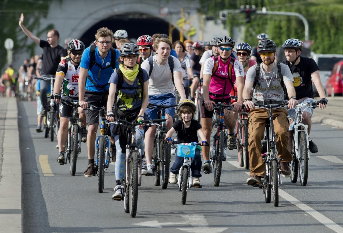 Velká jarní cyklojízda v Praze