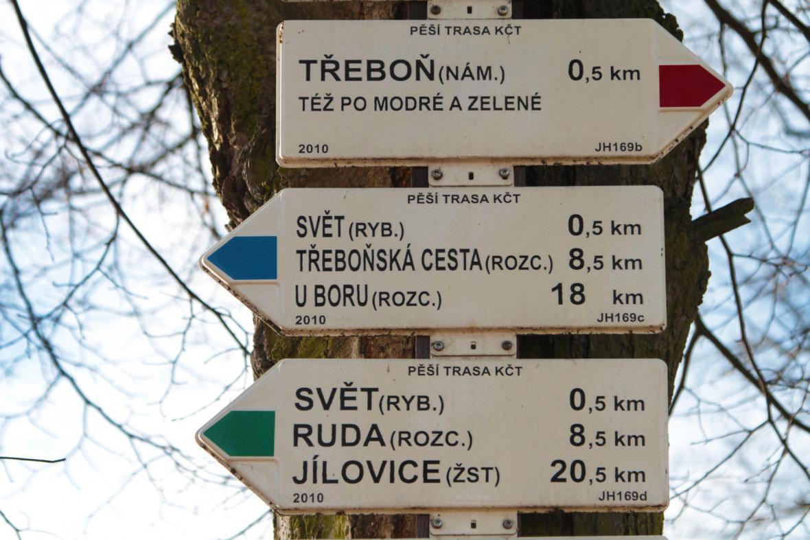 Turistické směrovky