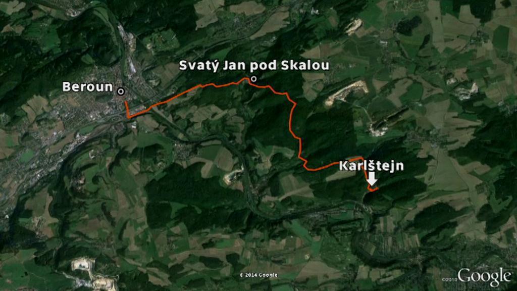 První dochovaná značená trasa v Česku