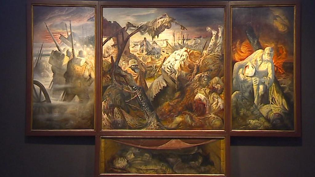 Otto Dix / Válka