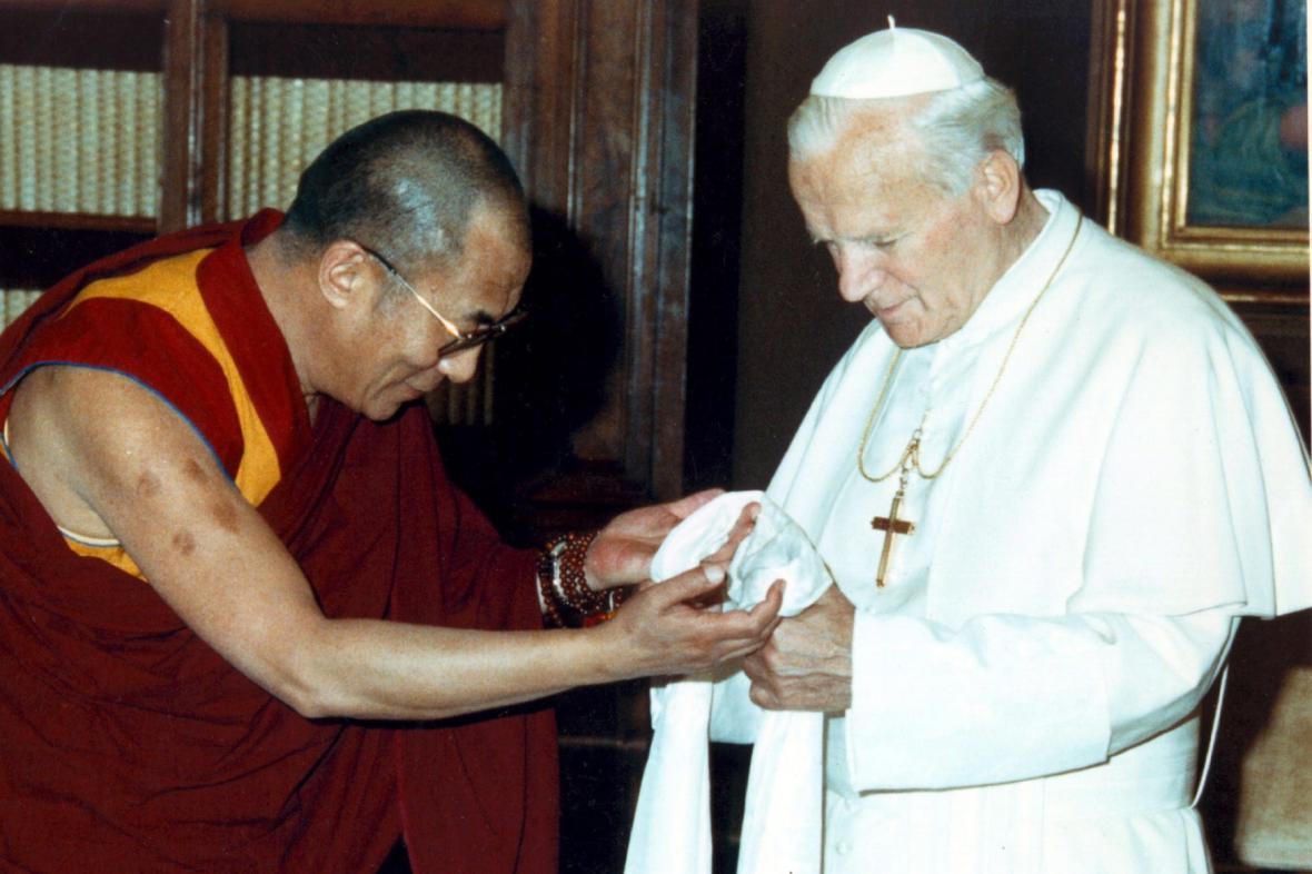 Papež Jan Pavel II. a dalajláma
