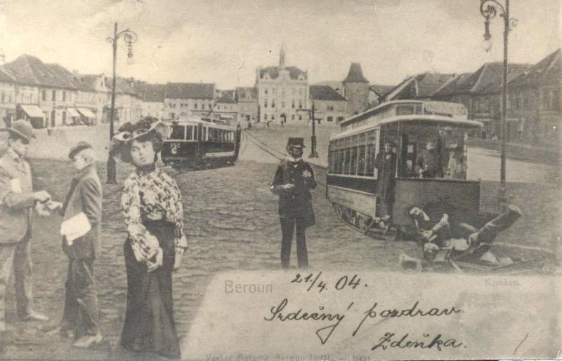 Historická pohlednice: Beroun v budoucnosti