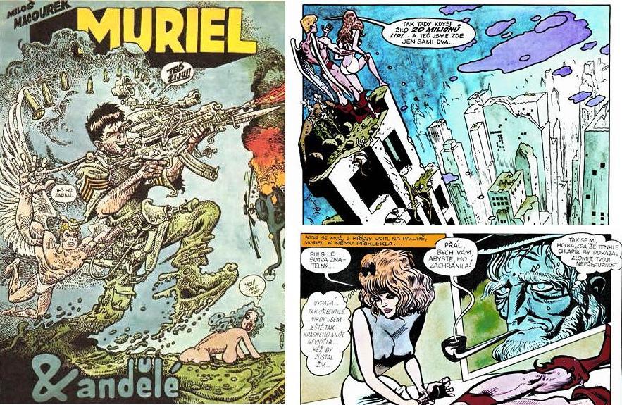 Kája Saudek / Muriel a andělé