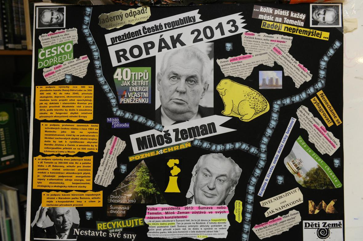 Ropák roku pro Miloše Zemana