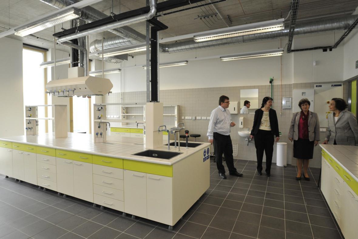 Nové laboratorní centrum zlínské univerzity