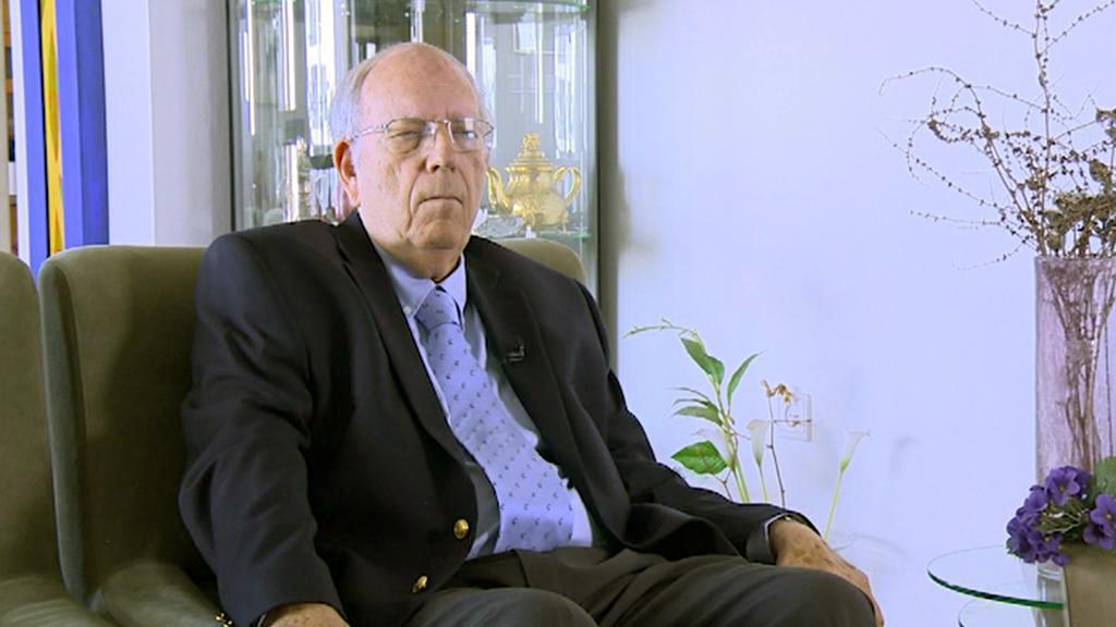 Bývalý šéf Mossadu Efraim Halevy