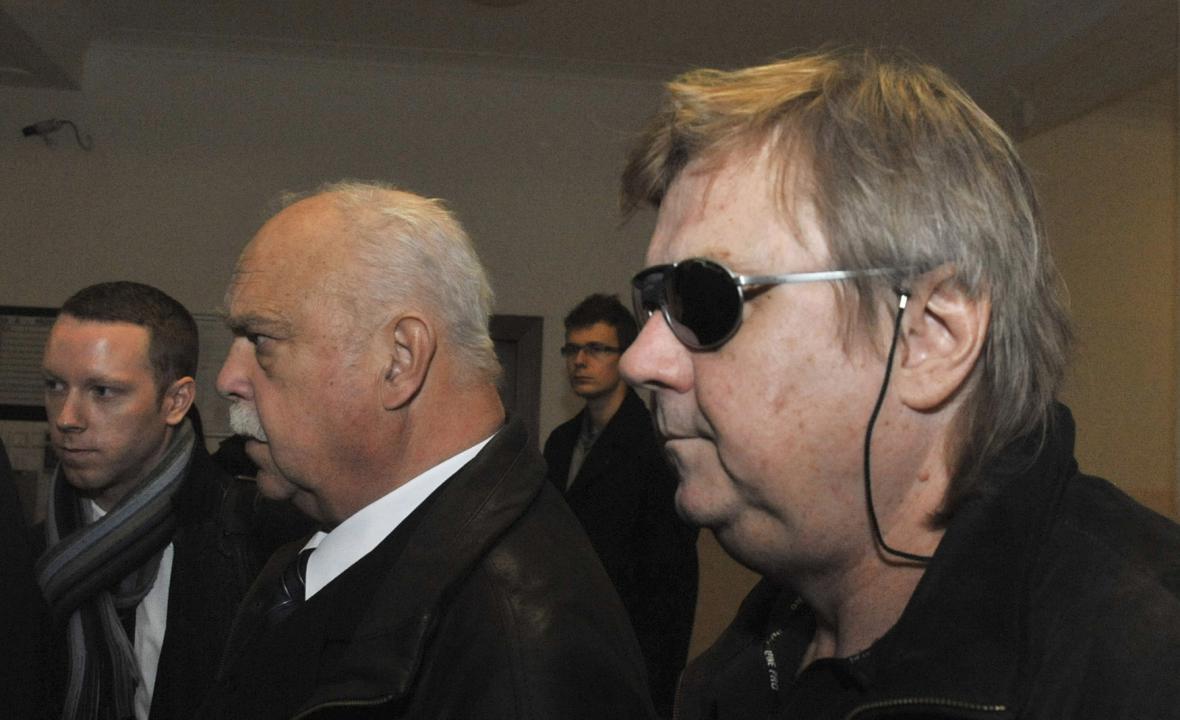 Jiří Barok u soudu