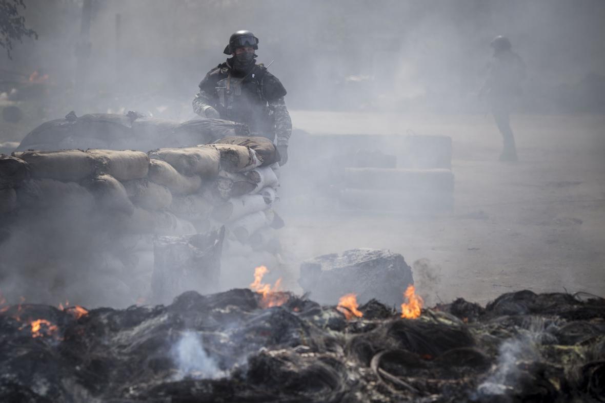 Protiteroristická akce ve Slavjansku